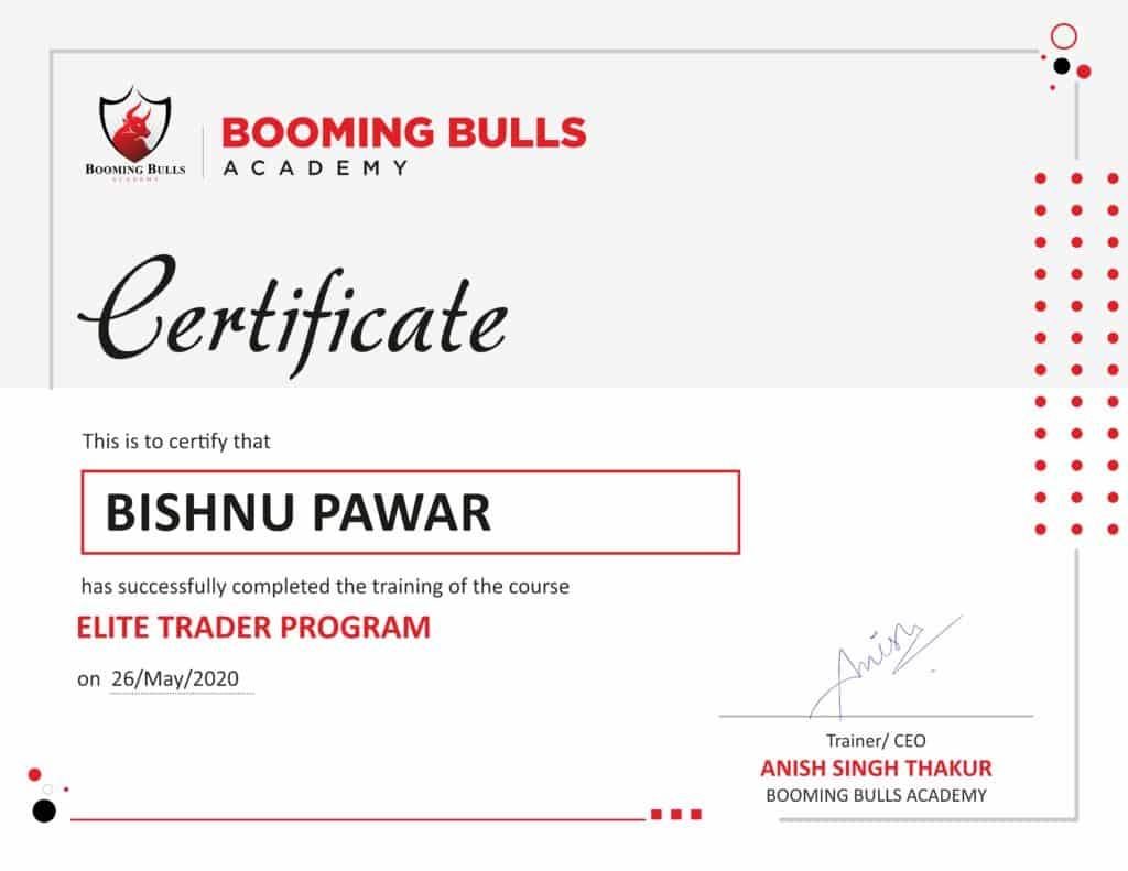 Booming Bulls, Elite Professional Trader