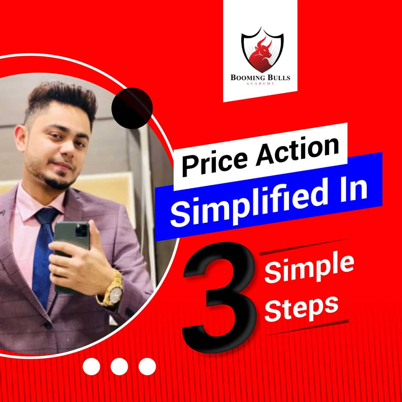 Price Action simplified in 3 simple steps by Mr. Anish Singh Thakur