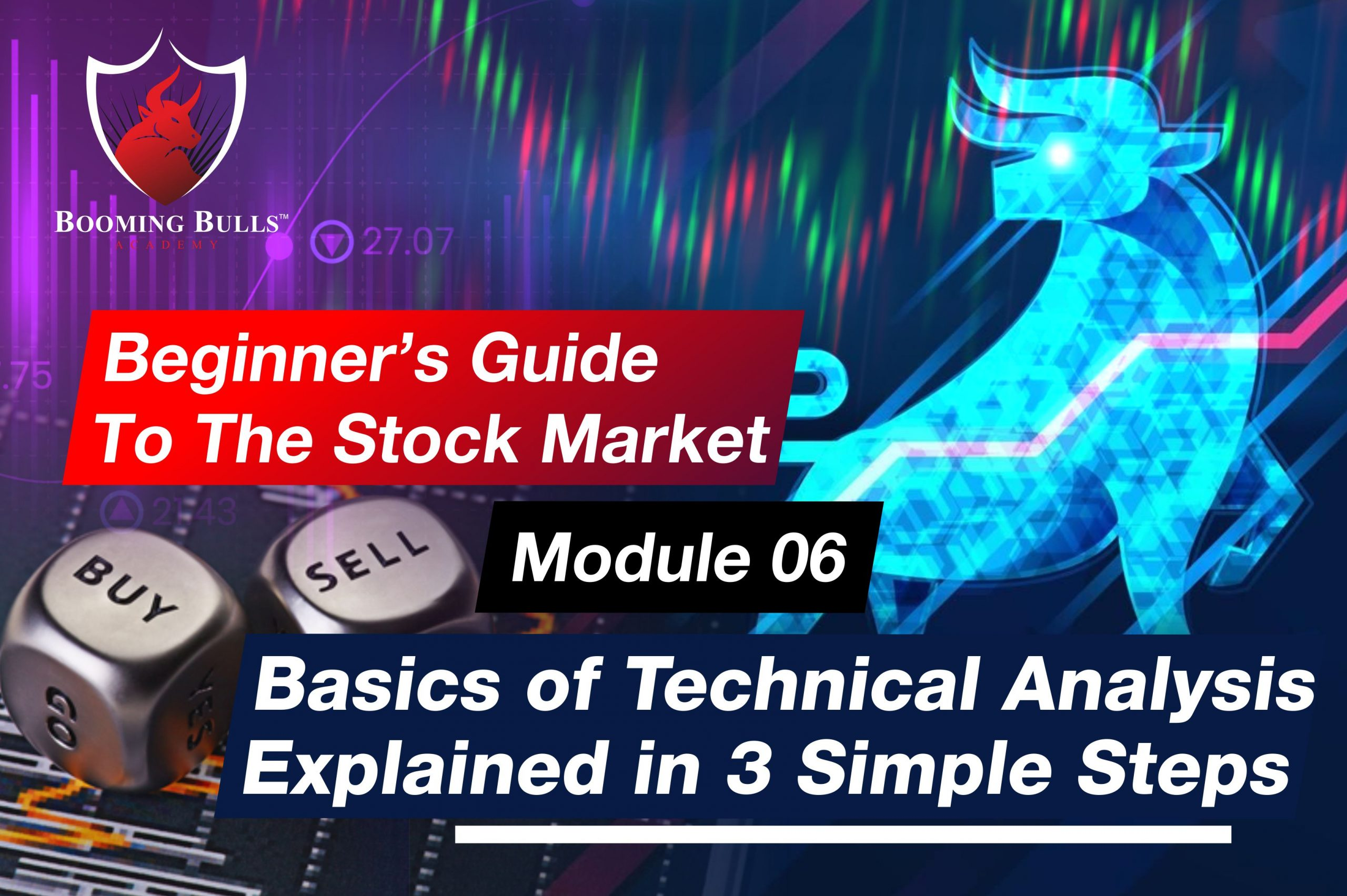 Beginner's Guide To The Stock Market | Module 06 | Basics of Technical Analysis Explained in 3 Simple Steps