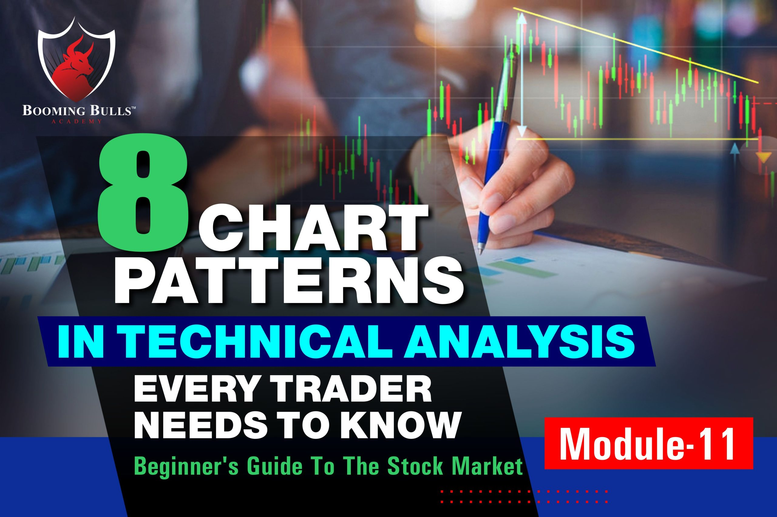 8 Chart Patterns In Technical Analysis Every Trader Needs To Know | Beginner's Guide To The Stock Market | Module 11